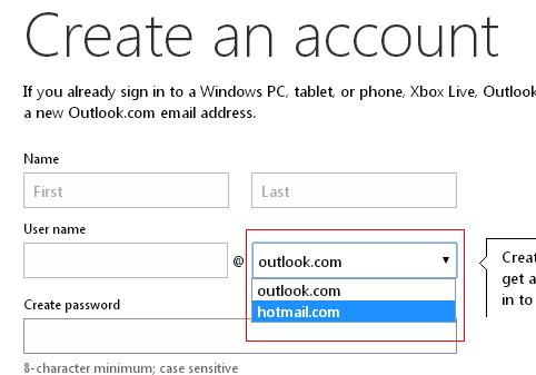 Image result for create hotmail email account