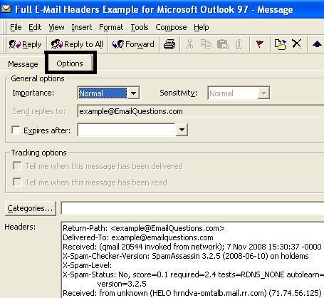 Full Email Headers - Microsoft Outlook 97.JPG