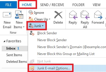 Microsoft Outlook 2013 Junk Email Options.jpg