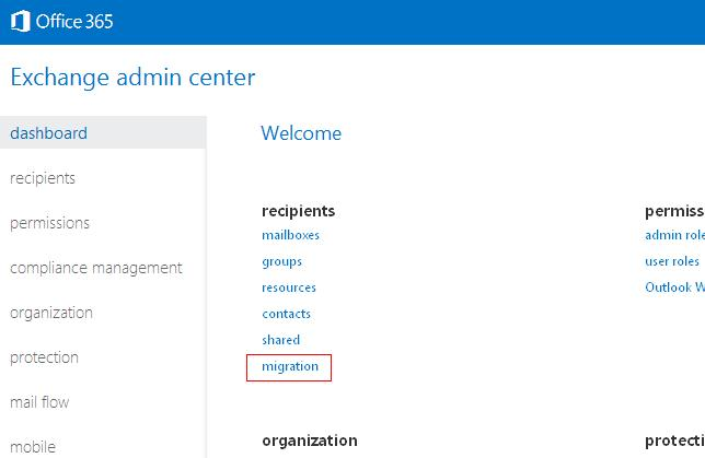 The destination is an Exchange server (Office 365 IMAP problems ...