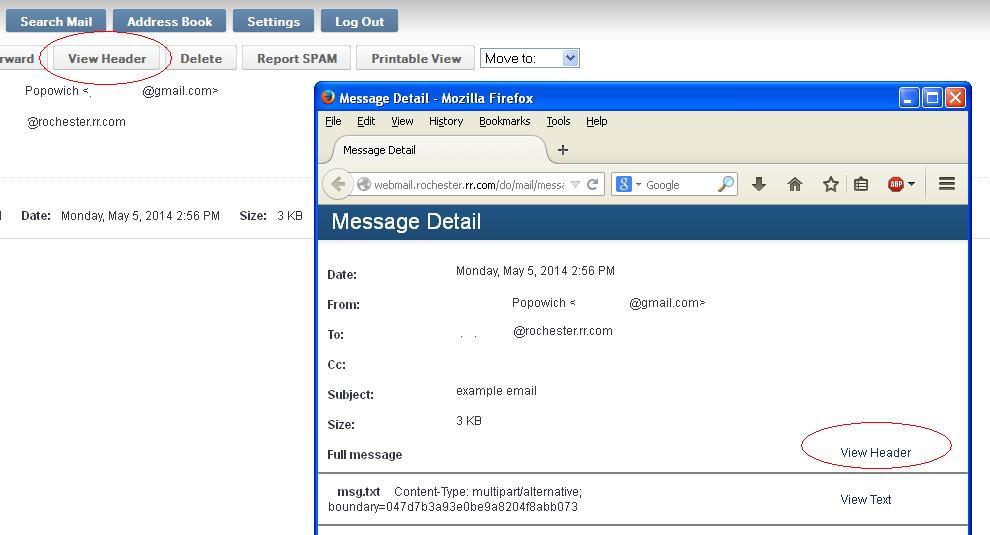 Time Warner Road Runner Full Email Headers.JPG