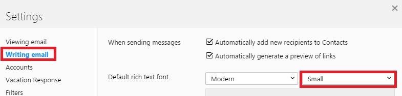Yahoo default font size.jpg