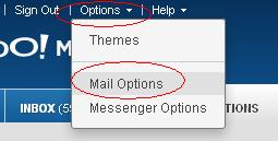 Yahoo Mail Options.JPG