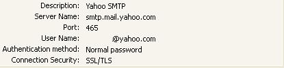 Yahoo Mail SMTP Settings.JPG
