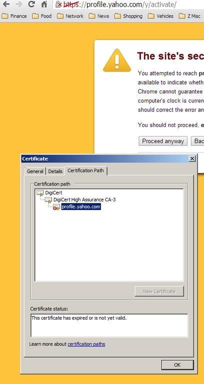 Expired Ssl Certificate Email Questions