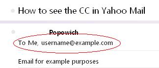 Yahoo who was CC on the email.JPG